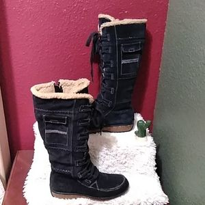 Timberland genuine leather boots